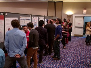 A scene from the SMU Research Day on Feb. 10.